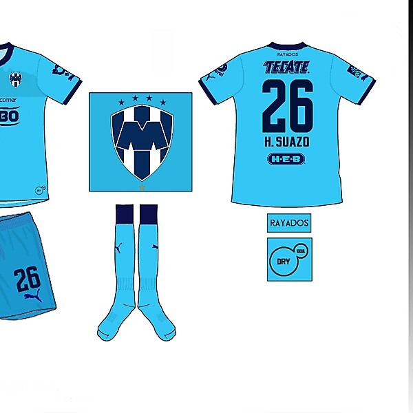 Monterrey Away Kit