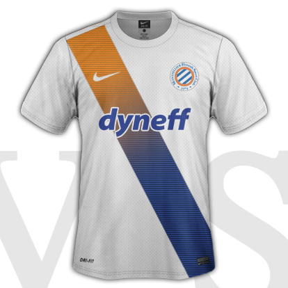 Montpellier HSC Third kit 2015/16 with Nike