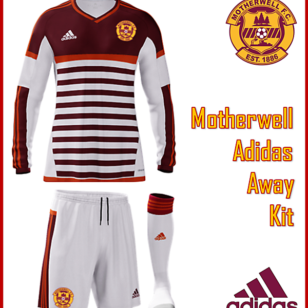 Motherwell F.C. - Adidas Away Kit