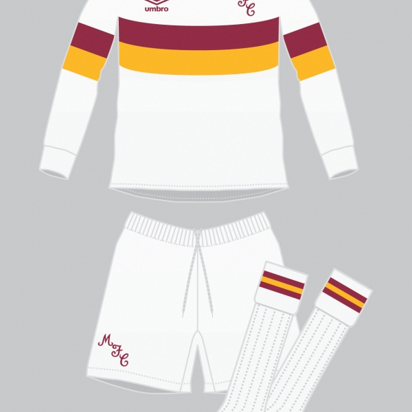 Motherwell 'Floodlight' Away Kit