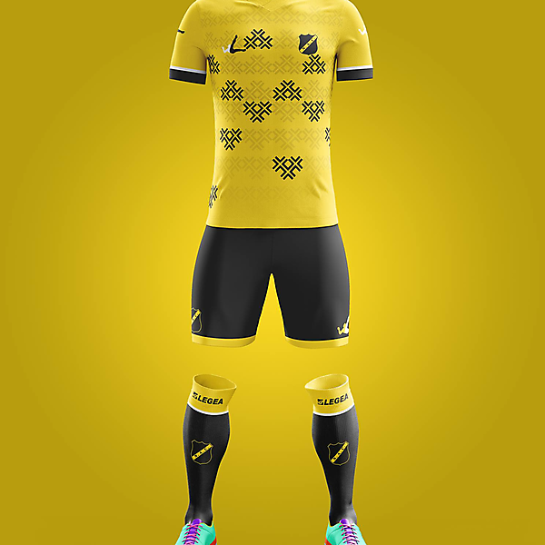 NAC Breda - Home kit