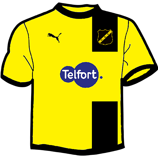 NAC Breda Home kit fantasy 2014-2015