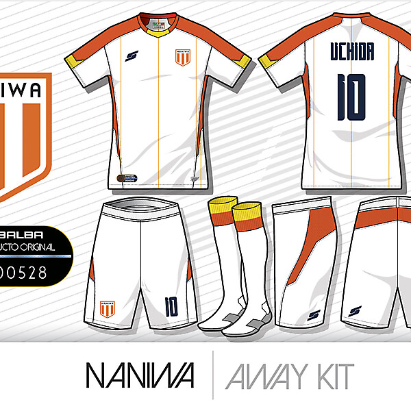Naniwa Away kit