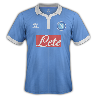 Napoli fantasy kits with Warrior
