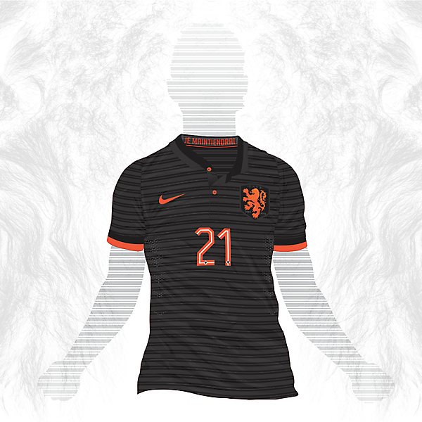 Nederlands away shirt 2015