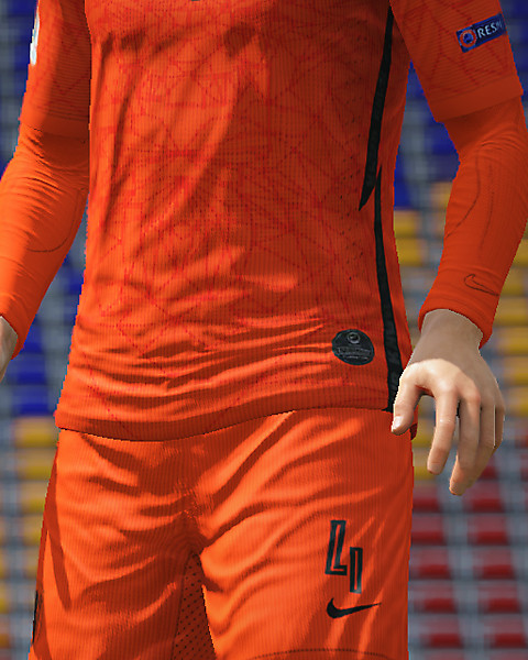 Netherlands home kit EURO 2020