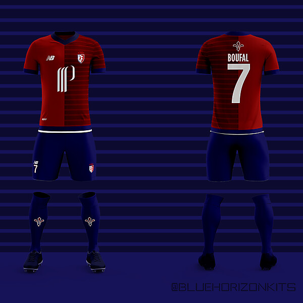 New Balance Lille Home Kit 2016-17