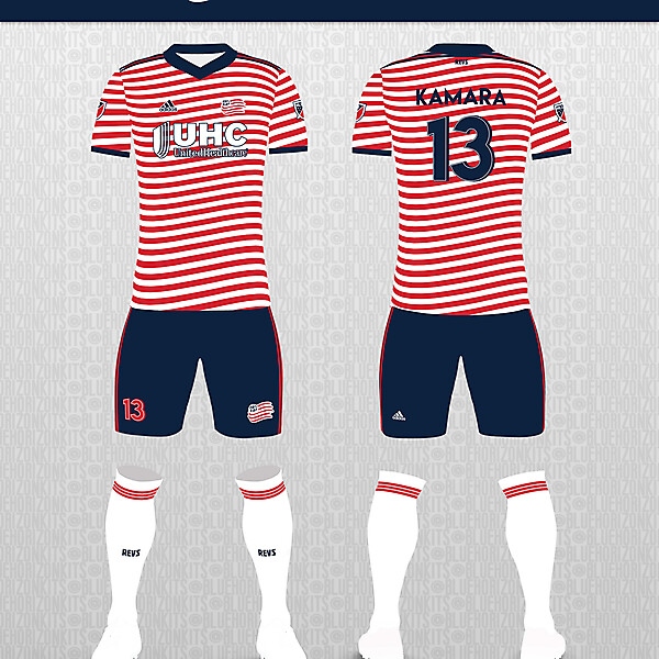 New England Revolution Away Kit