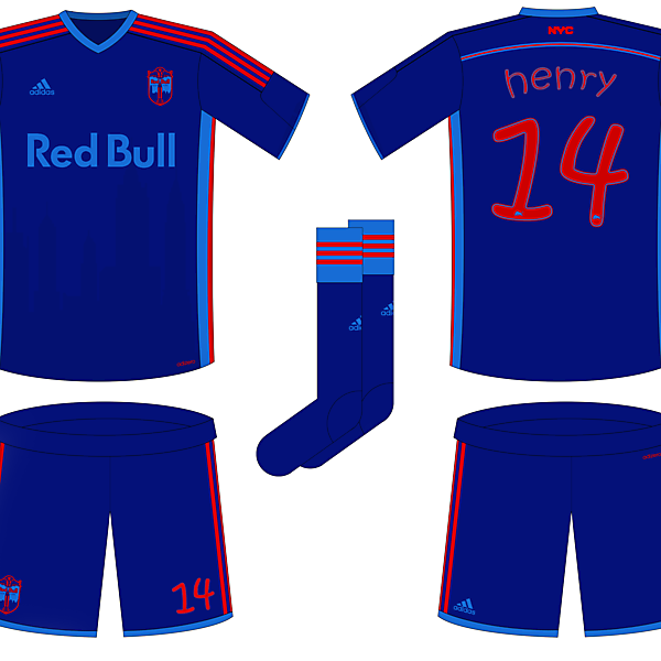 New York Red Bull Rebrand + Home Kit