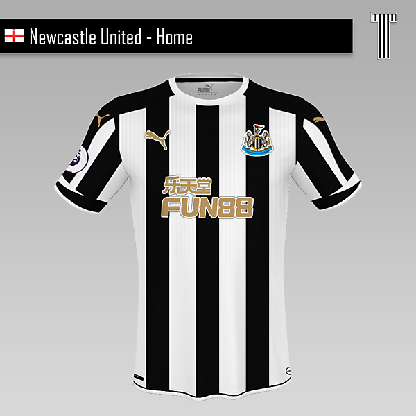 Newcastle United - Home