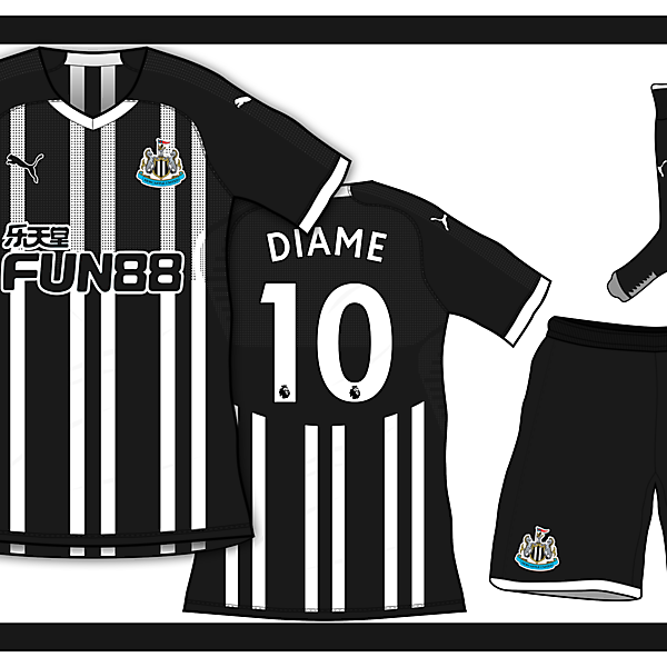 Newcastle United 18/19 Kit