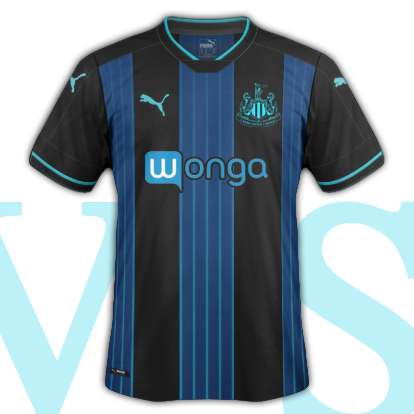Newcastle United 2016-17 Third Shirt