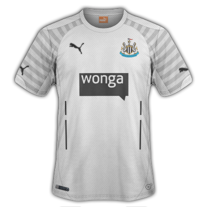 Newcastle United Third kit for 2014/15 with Puma