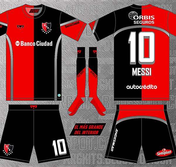 Newell's Old Boys - Home fantasy kit