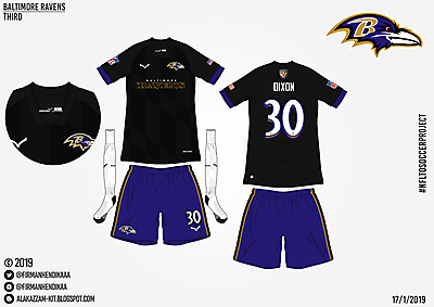 #NFLtoSoccerProject - Baltimore Ravens (Third)