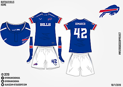 #NFLtoSoccerProject - Buffalo Bills (Home)