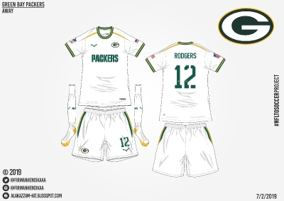 #NFLtoSoccerProject - Green Bay Packers (Away)