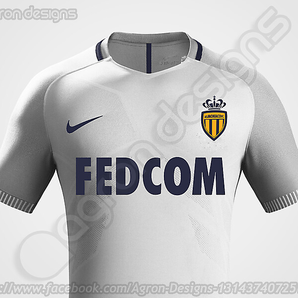 Nike As Monaco Fc 2016-17 Away Kit Based On Leaked Images