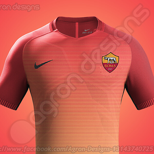 Nike As Roma 2016-17 Third Kit Possible (Updated)