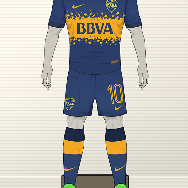 Nike Boca Juniors Kit (redo)