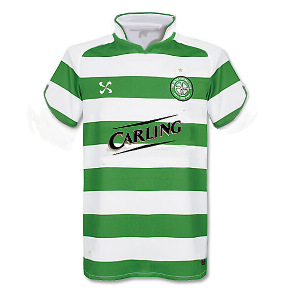 Celtic Nike Flower Home Shirt