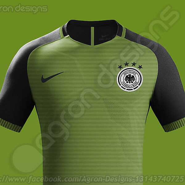 Nike Germany NT Away Kit Concept.