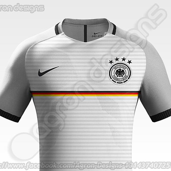 Nike Germany NT Home Kit Concept.