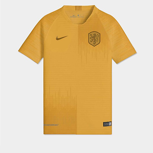 Nike Holland Home Jersey Concept