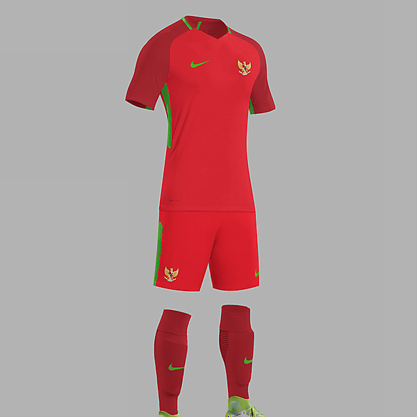 Nike Indonesia National Team Home Concept