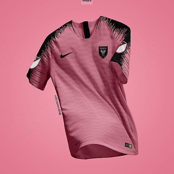 NIKE INTER MIAMI FC AWAY KIT CONCEPT