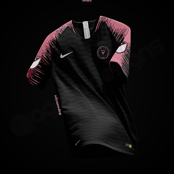 NIKE INTER MIAMI FC HOME KIT CONCEPT