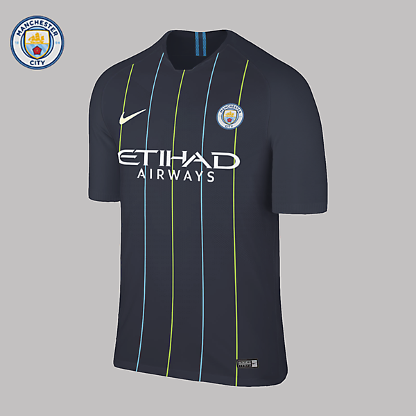 Nike Manchester City Away 2018/2019 Concept