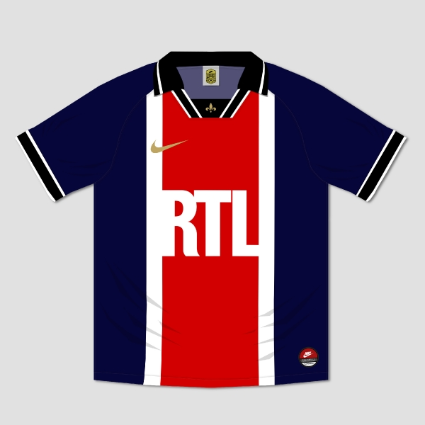 Nike Paris Saint-Germain 1994-2019 Retroconcept Jersey