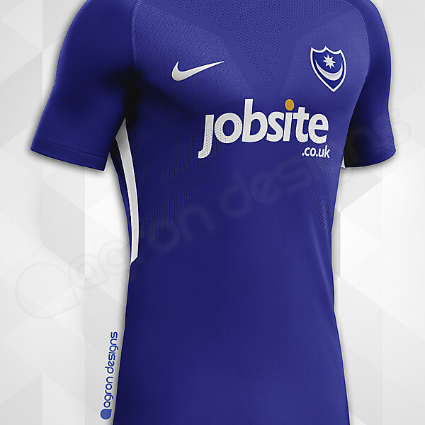 Nike Portsmouth FC Home Kit