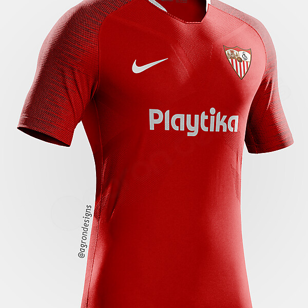 NIKE SEVILLA AWAY KIT CONCEPT