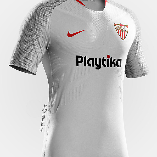NIKE SEVILLA HOME KIT CONCEPT
