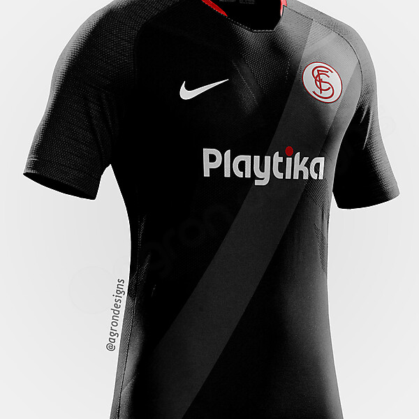 NIKE SEVILLA THIRD KIT CONCEPT
