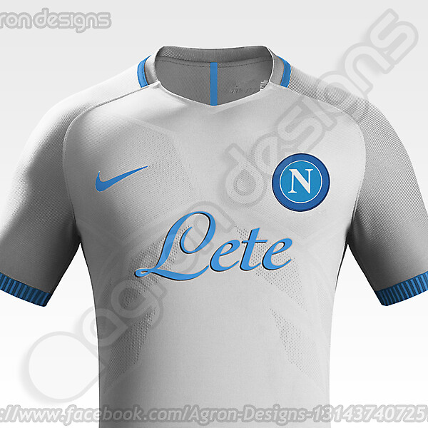 Nike SSC Napoli Away kit Concept