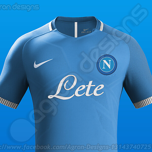 Nike SSC Napoli Home kit Concept