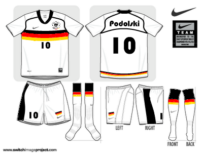 Germany World Cup Kit 2010