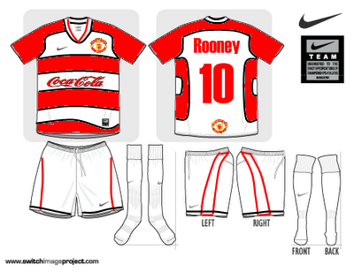Manchester united Fantasy third Kit with Coca Cola sponsor