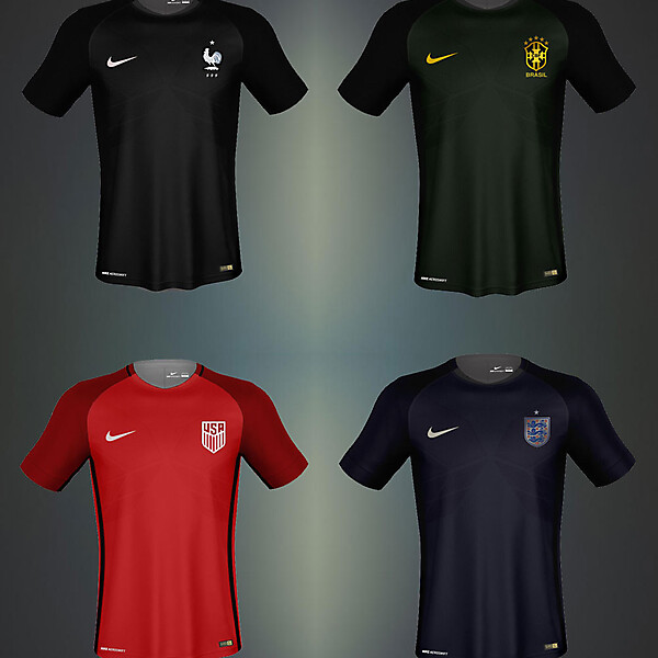 Nike Third Kits of National Team Leaked