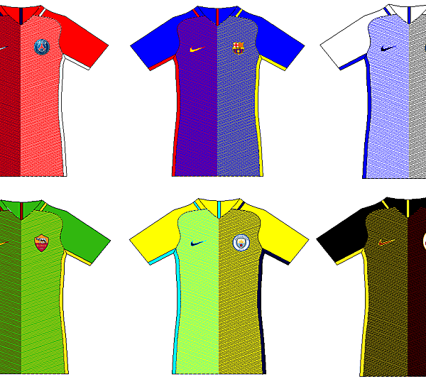 Nike Training Kit Conepts