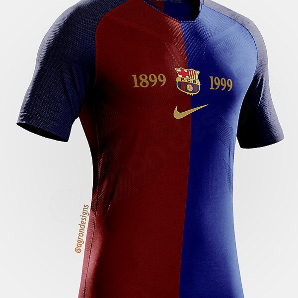 NIKE VAPOR 2018 BARCELONA 1998-1999 CENTENARY KIT