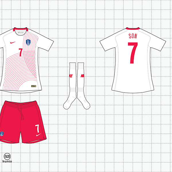 nike x kunto south korea away