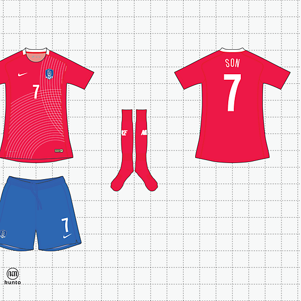nike x kunto south korea home