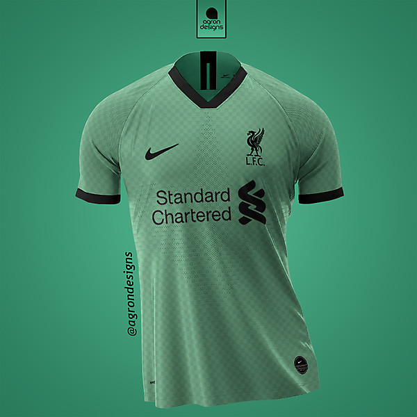 NIKE X LIVERPOOL FC AWAY KIT CONCEPT