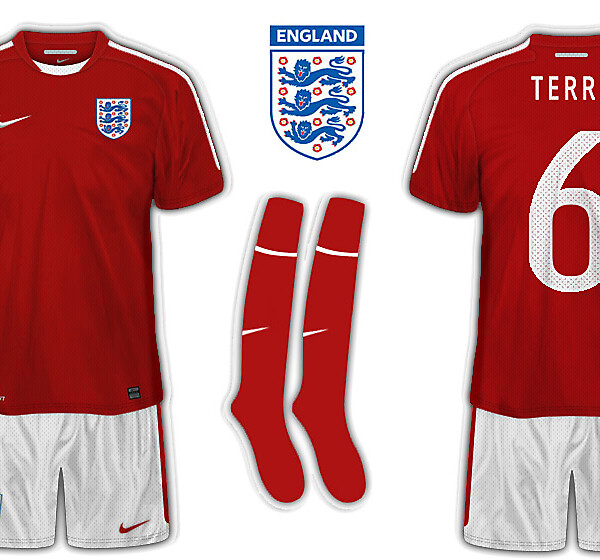 England by Nike away kit