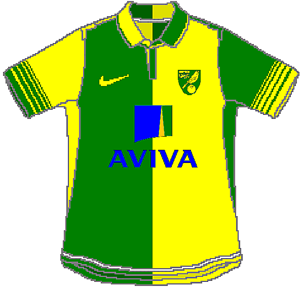 Norwich City Nike Home