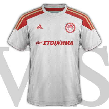 Olympiacos fantasy Third kit for 2015/16 with Adidas